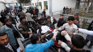 Daya daga cikin wadanda suka raunana a harin na Taliban
