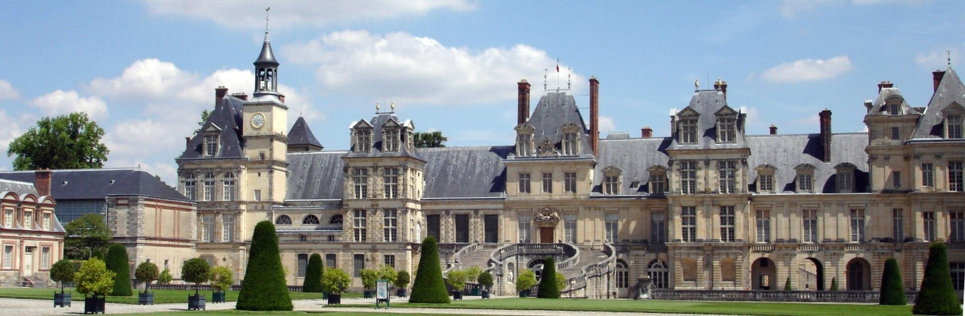 The Chateau de Fontainebleau