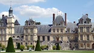 The Chateau de Fontainebleau
