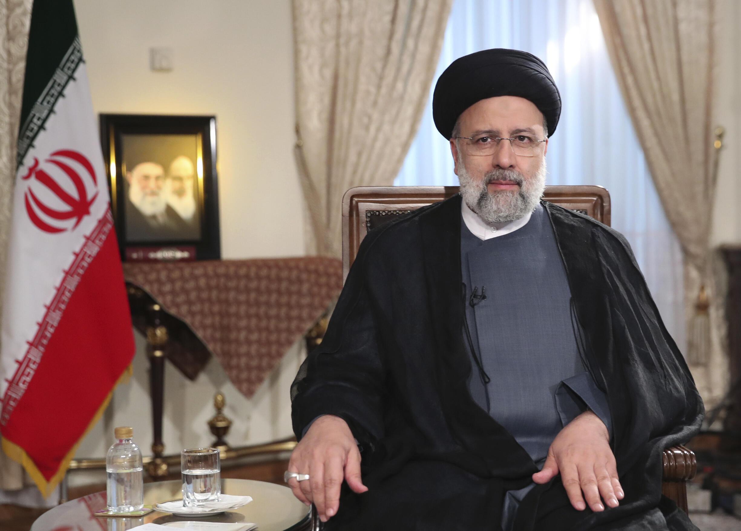 Iran - President Ebrahim Raisi