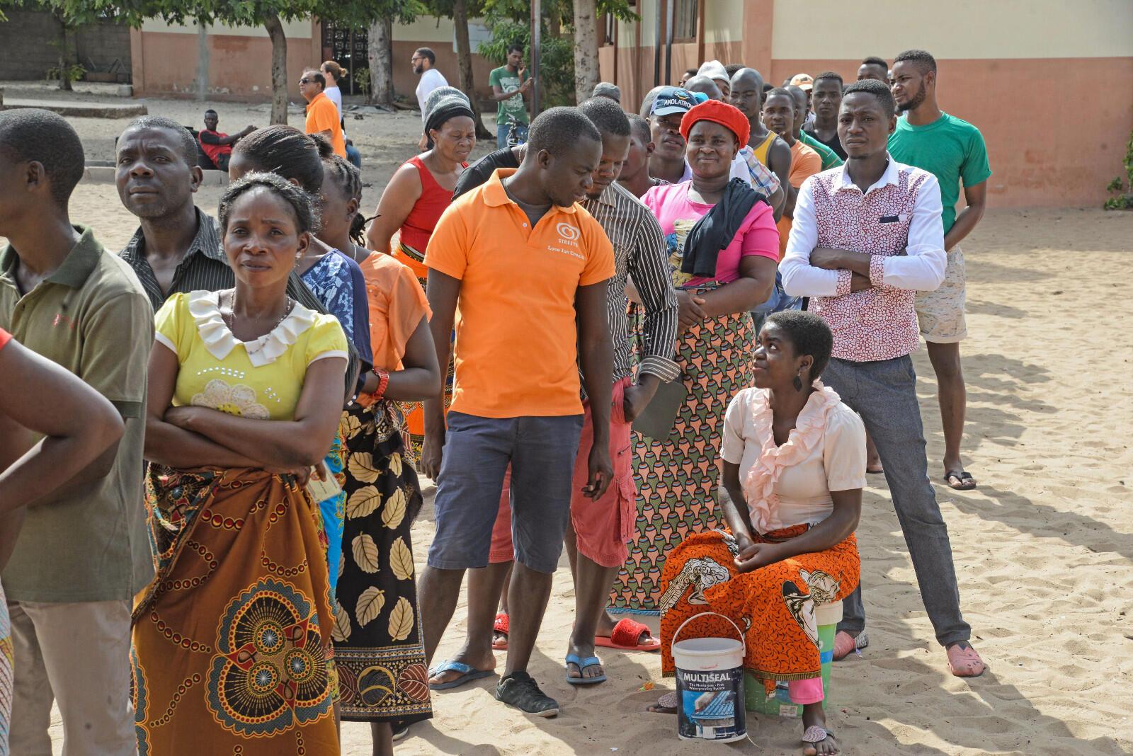 O processo de recenseamento em Moçambique tem sido marcado por dificuldades (Imagem de arquivo).