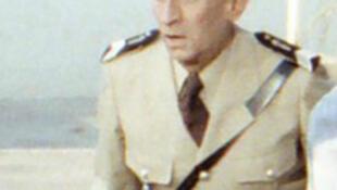 Louis de Funès sur le tournage du gendarme à Saint-Tropez en 1978.