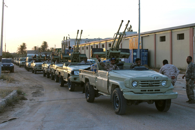 Dakarun gwamnatin Libya dake  shugabanci a Tripoli