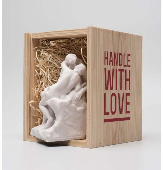The Rodin museum's packaged mini-Kiss