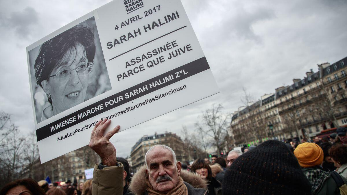 Sarah Halimi Protests