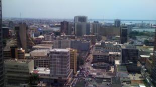 Abidjan, la capitale économique de la Côte d'Ivoire.