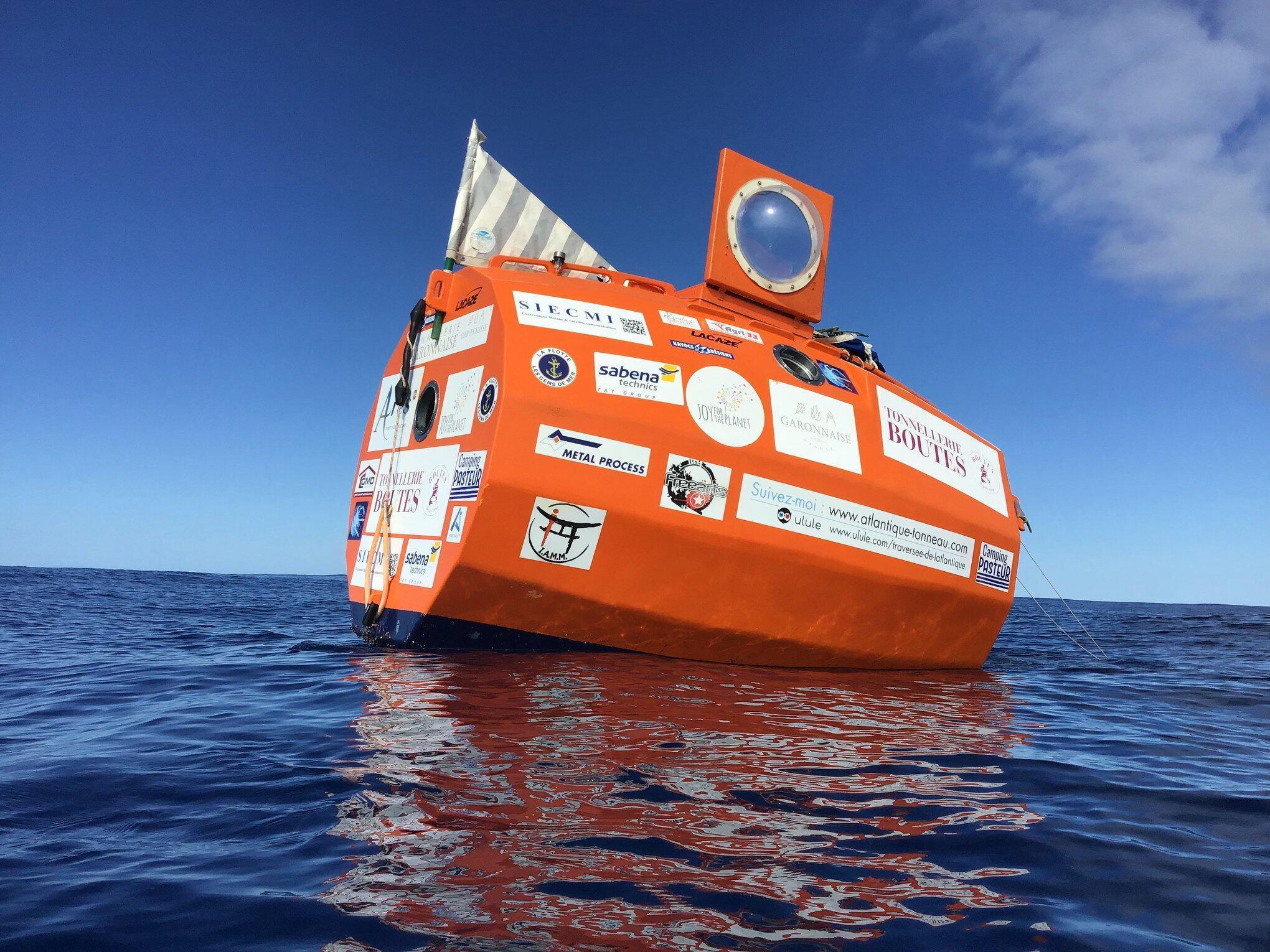 TESA : Travessia do Oceano Atlântico de toneu