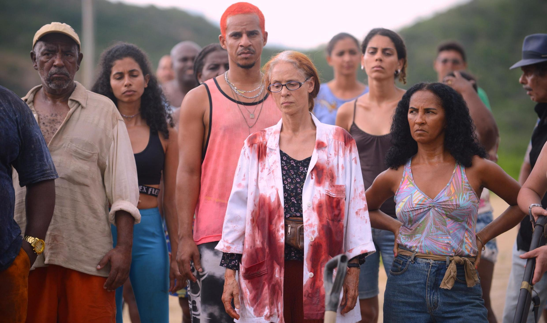"Cena de ""Bacurau"", com Sónia Braga no elenco."