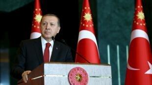 Rais wa Uturuki Recep Tayyip Erdogan.