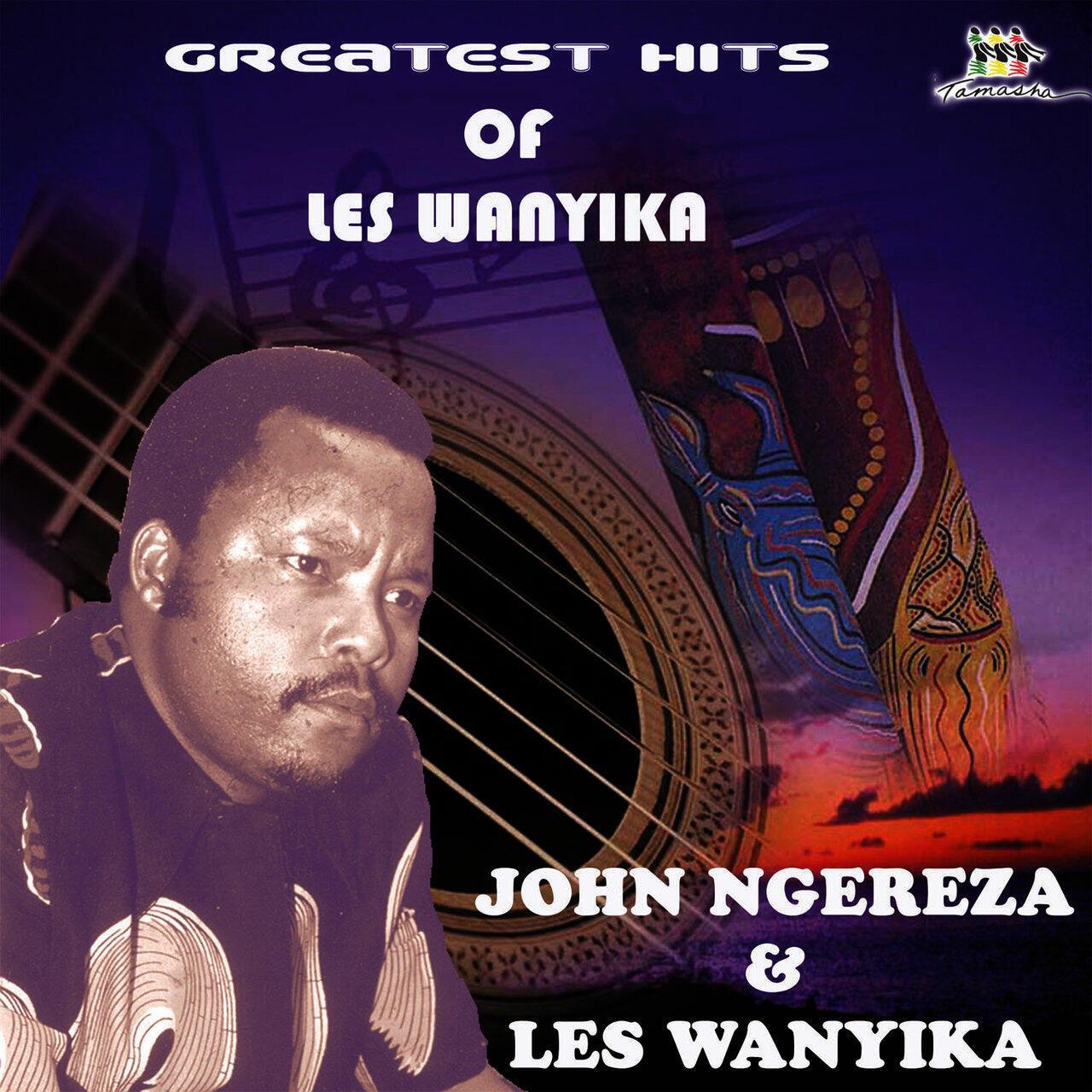 John Ngereza wa Bendi ya Les Wanyika