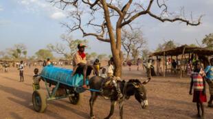 Une ville frontalière du  Soudan du Sud.