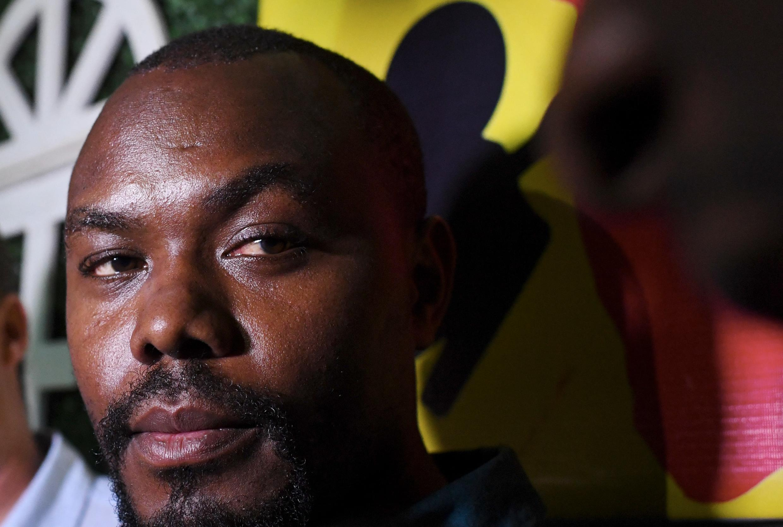 Le réalisateur rwandais Joël Karekezi (ici en 2019) est membre du jury du Mobile Film Festival Africa 2021.  © Issouf Sanogo / AFP
