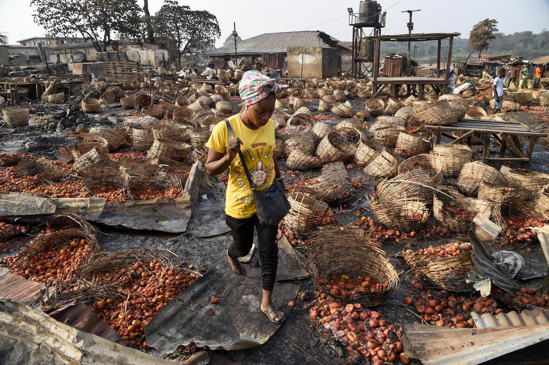 Nigeria Marché ravagé Ibadan Violences ethniques