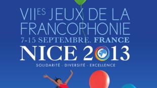 Affiche officielle des Jeux de la Francophonie 2013