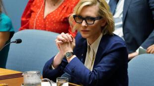 A atriz australiana Cate Blanchett relatou ao Conselho de Segurança atrocidades cometidas contra os rohingyas que ela ouviu de vítimas quando visitou a região em março passado.