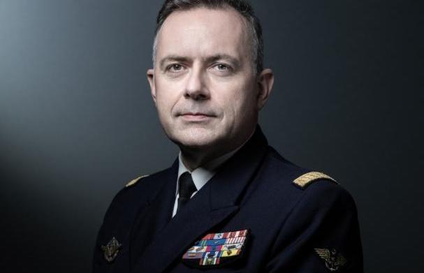 法國海軍參謀長範迪爾資料圖片