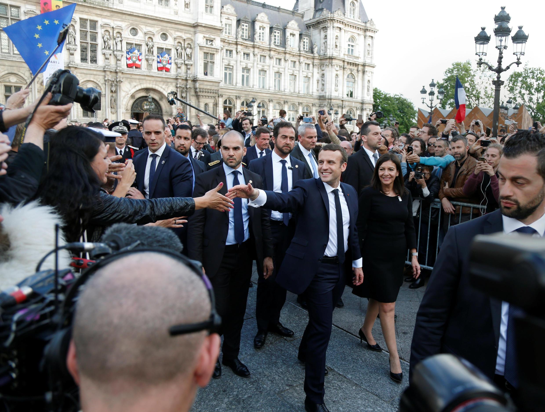Raisi wa Ufaransa Emmanuel Macron