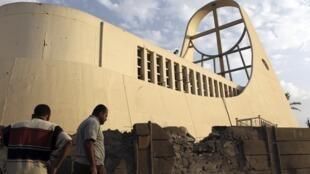 La Cathédrale Notre Dame du Perpétuel Secours, à Bagdad, le 1er novembre 2010.