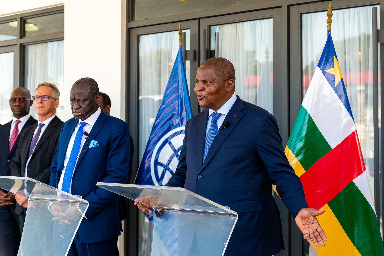 Banque mondiale - Centrafrique - Bangui - Faustin-Archange Touadéra
