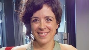 Ana López Ortego en los estudios de RFI