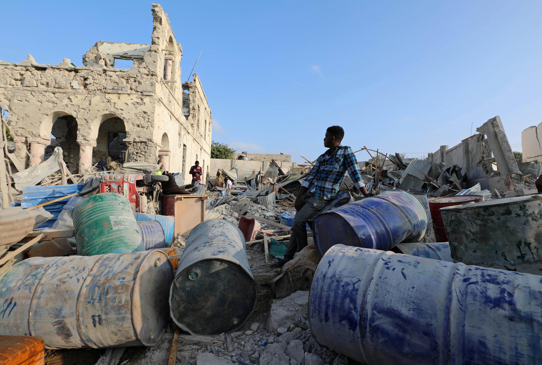 Atentado na Somália deixou pelo menos 38 mortos