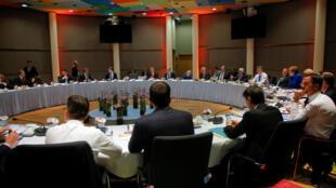 نشست فوق العاده رهبران اتحادیه اروپا در بروکسل برای تصمیم گیری در باره تمدید مهلت برکسیت