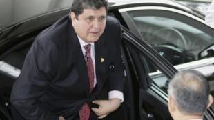 El presidente peruano, Alan Garcia.