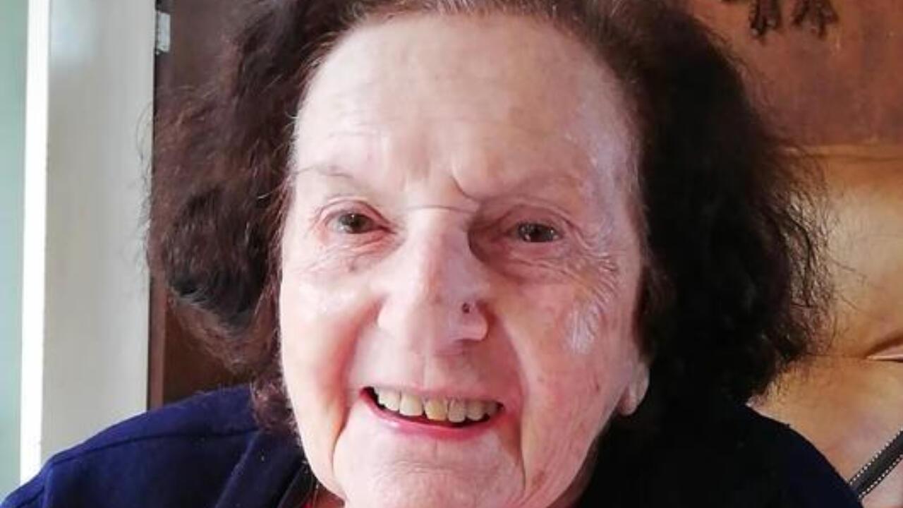 Gerti Burian, sobrevivente do Holocausto