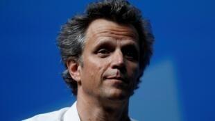 Le président du directoire de Publicis, Arthur Sadoun, au festival international de la créativité à Cannes, le 19 juin 2018.
