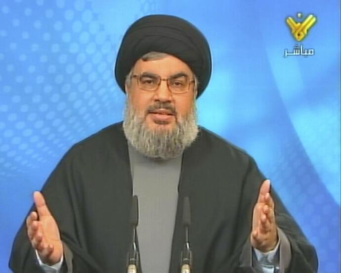 Hassan Nasrallah, chefe do Hisbolá, no Líbano mostra-se aberto ao pacto político pelo Presidente francês, Macron, que estará amanhã em Beirute.