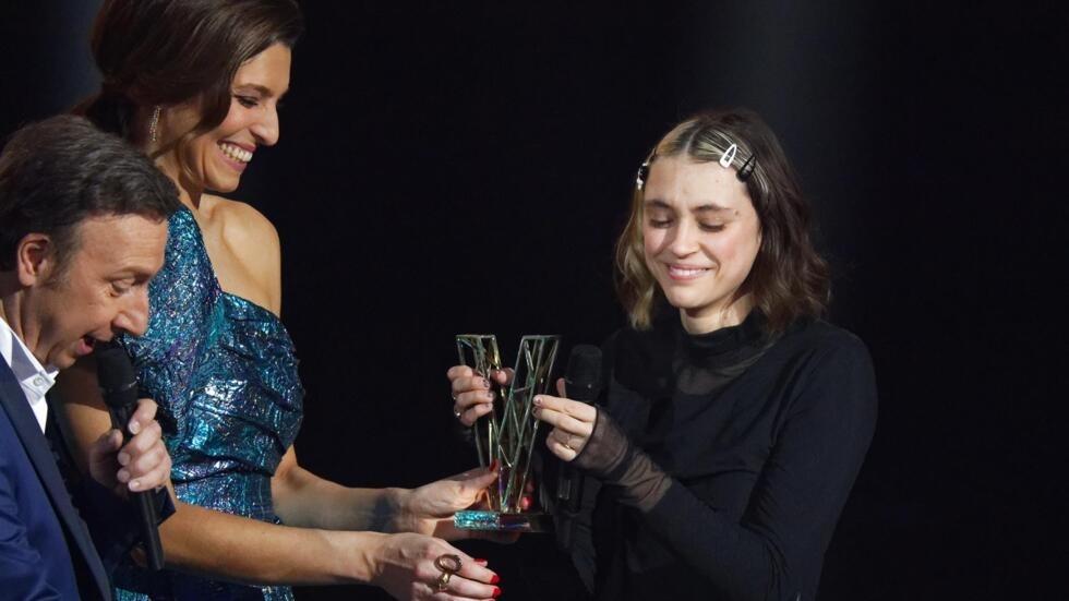 Un an après avoir décroché le trophée de l'album révélation, Pomme, 24 ans, remportait la récompense reine, celle de l'artiste féminine.