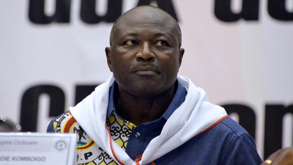 Eddie Komboïgo, Mei 10, 2015 wakati wa mkutano mkuu wa chama cha CDP.