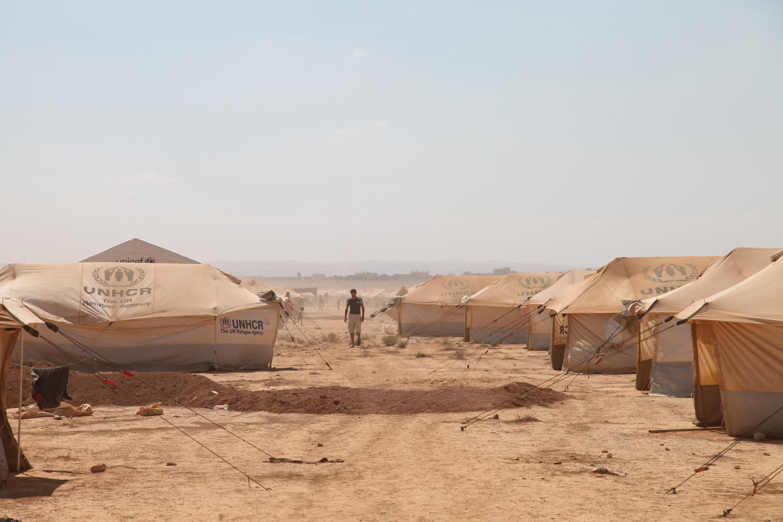 The Zaatari refugee camp in northern Jordan