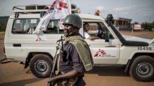 Bangui, República Centroafricana, mayo de 2014.