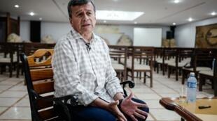 Pablo Beltrán, el jefe negociador del ELN.