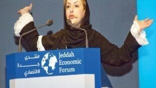 Sarah Al Suhaimi foi nomeada chefe do banco de investimento do NCB Capital, na Arábia Saudita.