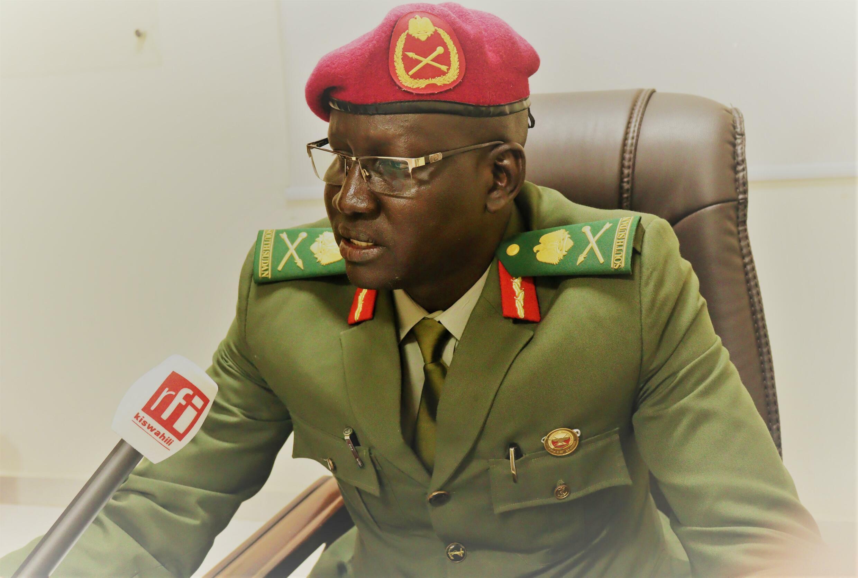 Maj.Gen 'psc' Lul Ruai Koang army spokesman South Sudan
