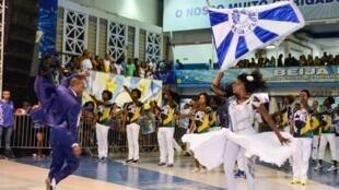 Penúltimo ensaio da Beija-Flor antes do desfile oficial de 2018.