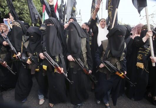 زنان جهادگرای عضو داعش