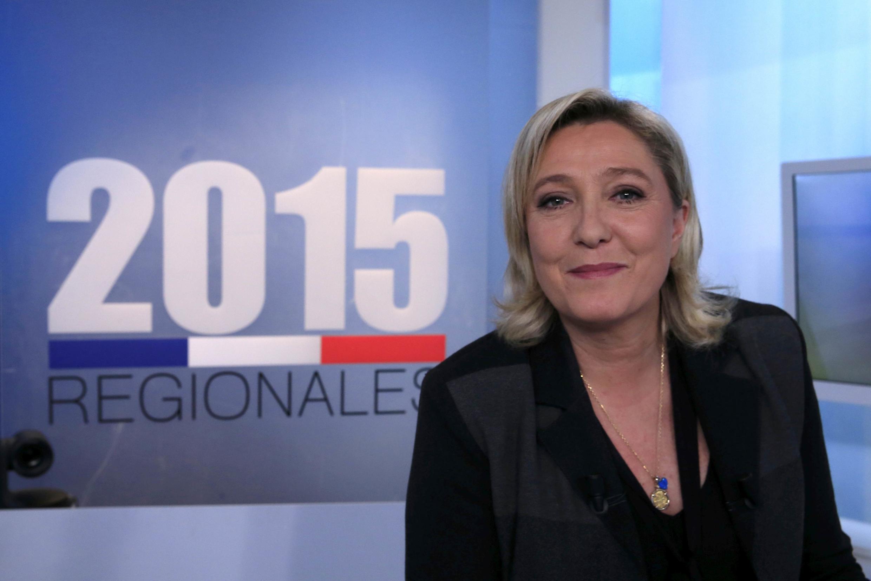 A presidente da Frente Nacional (FN), Marine Le Pen, prevê uma grande vitória do partido nas eleições regionais deste domingo (6).