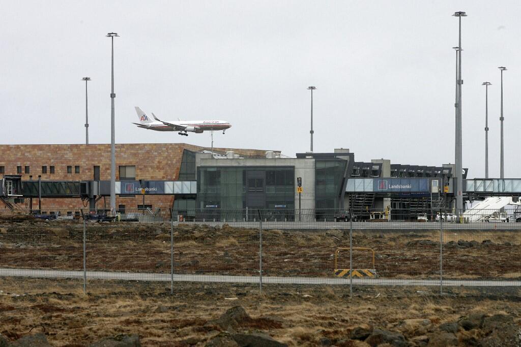 Une vue de l'aéroport de Keflavik, la principale porte d'entrée du territoire islandais (image d'illustration).