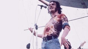Joe Cocker au festival Woodstock à Bethel, New York, 1969.