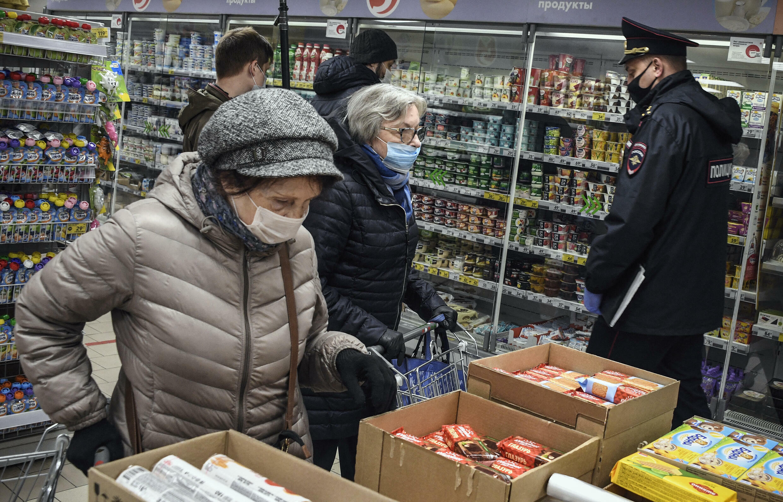 Moscou - supermarché