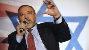 Le ministre israélien des Affaires étrangères Avidgor Lieberman, le 30 novembre à Washington.