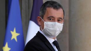 La famille bosniaque a été expulsée ce samedi 24 octobre de France, où elle vivait, vers Sarajevo, a annoncé le ministre de l'Intérieur Gerald Darmanin (ici à l'Élysée, le 14 octobre 2020).
