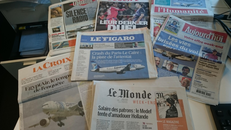 Diários franceses 20.05.2016