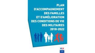 Plan d'accompagnement des familles et d'amélioration des conditions de vie des militaires (campagne d'affichage).