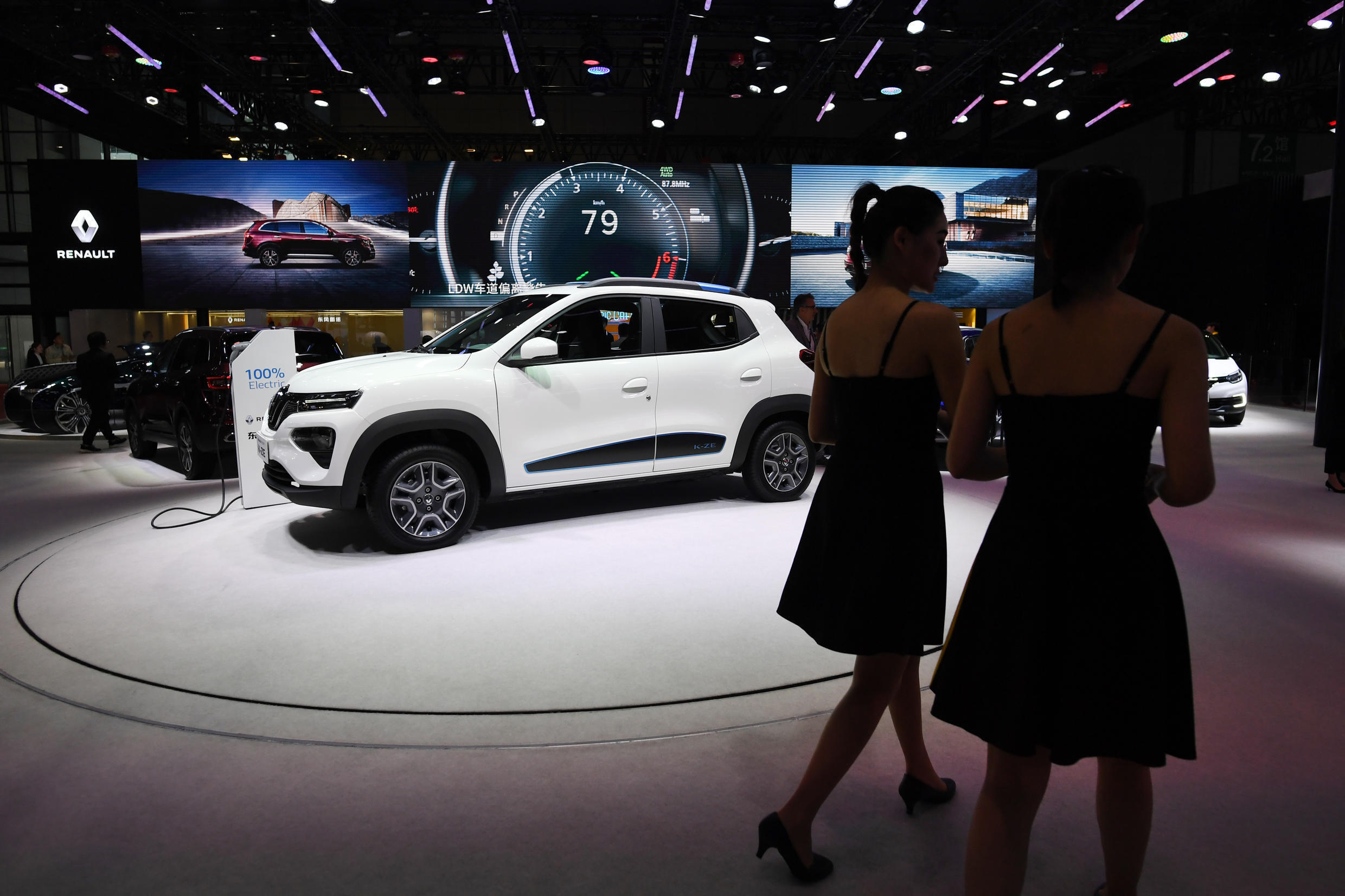 2020-04-16 Renault City K-ZE electric car at the Shanghai Auto Show in Shanghai