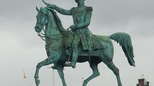 Statue équestre de Bernadotte, Stockholm.