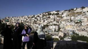 Le quartier de Silwan à Jérusalem Est, où a lieu le projet archéologique.